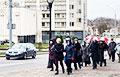 В Гродно пенсионеры идут Маршем по центру города