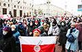 Марш пенсионеров в Минске в ярких фото