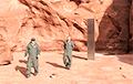 В американской пустыне обнаружили металлический монолит неизвестного происхождения