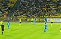 Трибуны скандируют «Жыве Беларусь!» на чемпионском матче «Шахтера»