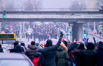 March Of Neighbours Held In Belarus