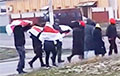 У Заслаўі ўжо пачалася нядзельная акцыя пратэсту