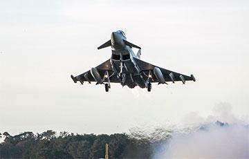 Британские истребители перехватили разведывательные самолеты РФ над Северным морем