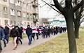 «Я выходжу!»: Берасце далучылася да Маршу суседзяў