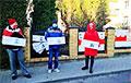 В Белостоке поддержали белорусских журналистов