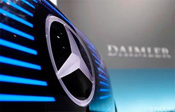 Автогигант Daimler выплатит сотрудникам по €1000 за работу на удаленке и ношение масок