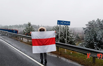 Белорусские партизаны «захватили» переправу через Неман