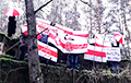 «Пошел вон, ты и твой ОМОН»: яркая акция партизан из Гродно