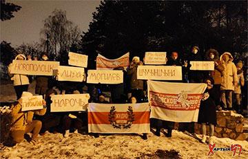 Минчане с Раковского шоссе пообещали дожать режим