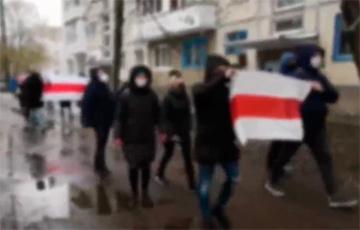 Жители Витебска вышли на марш против приезда Таракана