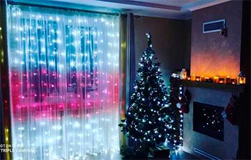 Белорусы декорируют квартиры к Новому году в национальных цветах