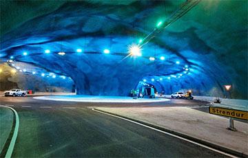 На Фарерах построили первый в мире тоннель с автомобильной развязкой на дне океана