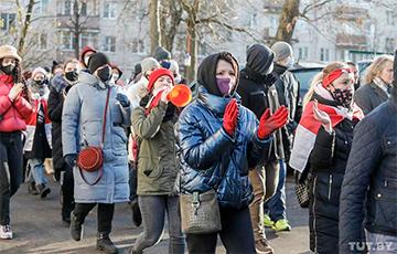 В Беларуси прошел воскресный Марш (Онлайн)