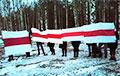 Жители Светлогорска вышли с бело-красно-белыми флагами