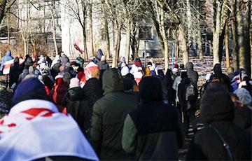 Минский микрорайон Запад вышел на марш