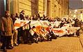 Белорусы Санкт-Петербурга и Москвы вышли на акции протеста