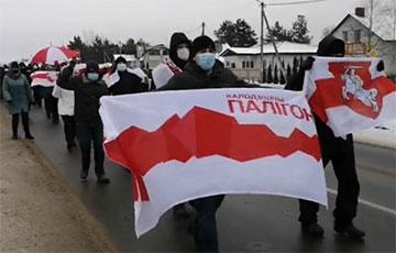 Белорусы неожиданно вышли на акции протеста в субботу