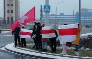 Каменная Горка начала протестный день