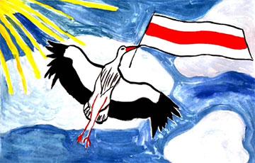 Дети Масюковщины рисуют свободную Беларусь
