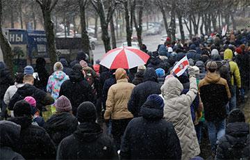 Минские партизаны провели серию креативных акций