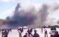 В аэропорту Адена в Йемене прогремел мощный взрыв