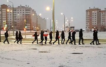 Микрорайон Ольшанка в Гродно вышел на субботний марш