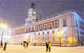Испанию парализовали «сибирские» снегопады