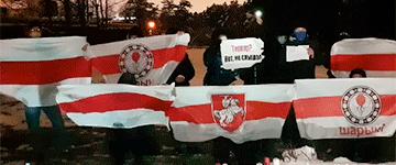Как в Беларуси прошел 157-й день протестов