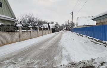 Улицы в Слуцке обещают почистить от снега... до 2 февраля