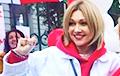 Анжелика Агурбаш: У меня подготовлен подарок всему белорусскому народу