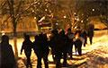 Чкаловский район Минска вышел на громкий марш