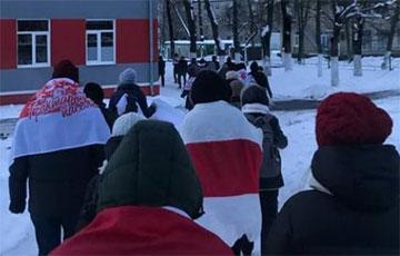 Велозавод, Тракторный и Шарики маршируют по Минску