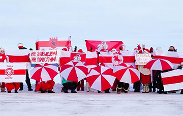 Belarus Held Sunday Marches At 20 C⁰ Below Zero