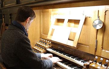 Белорусы в Германии исполнили «Перемен» Цоя на органе