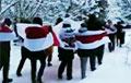 Ракаў, Аксакаўшчына і Новае поле выйшлі на нядзельны марш