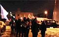 Жыхары Курасоўшчыны выйшлі на вечаровы марш