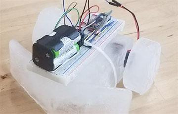 В США создали ледяного робота