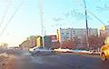 Массовая авария на МКАД попала на видео