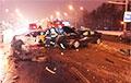 В Минске на проспекте Независимости произошла массовая авария