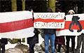 Минское Сухарево вышло на акцию солидарности