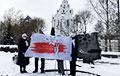 В Минске прошла акция людей с инвалидностью