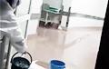 У Віцебску затапіла ЛХМД, дзе лечаць пацыентаў з каранавірусам
