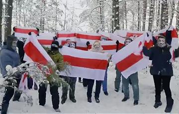 Ваўкавыскія партызаны выйшлі на марш