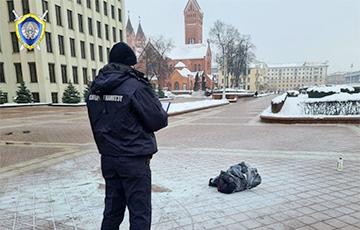 Следователи рассказали подробности о самосожжении возле Дома правительства в Минске