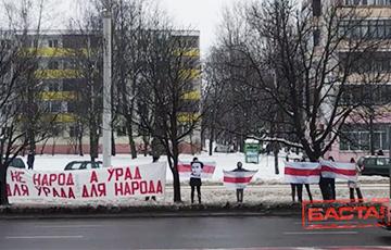 Зеленый Луг вышел на акцию в честь Кастуся Калиновского