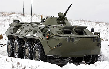 В России ищут 80 вагонов для отправки бронетранспортеров БТР-80 в Беларусь