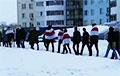 Менчукі Ленінскага раёна выйшлі на суботні марш