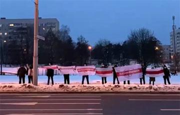 Минская Масюковщина провела мощную акцию солидарности