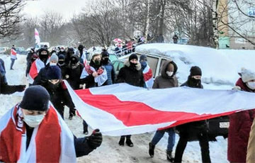 Kurasoushchyna Came Out on a Massive Saturday March