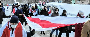 Как в Беларуси прошел 168 день протестов: сильные фото